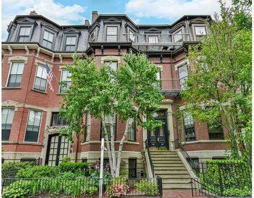 Picture 1 of 398 Beacon St Unit A Boston Ma  3 Bedroom Condo#