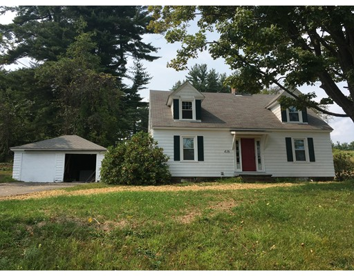 Single Family Home for Sale at 416 Leyden Road Greenfield, Massachusetts 01301 United States