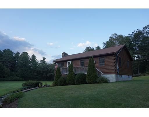 Maison unifamiliale pour l Vente à 169 Spencer Road Oakham, Massachusetts 01068 États-Unis