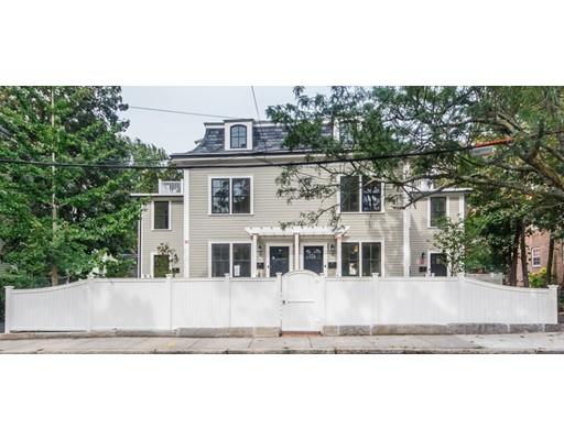 Condominium for Sale at 11 Walden Street 11 Walden Street Cambridge, Massachusetts 02140 United States