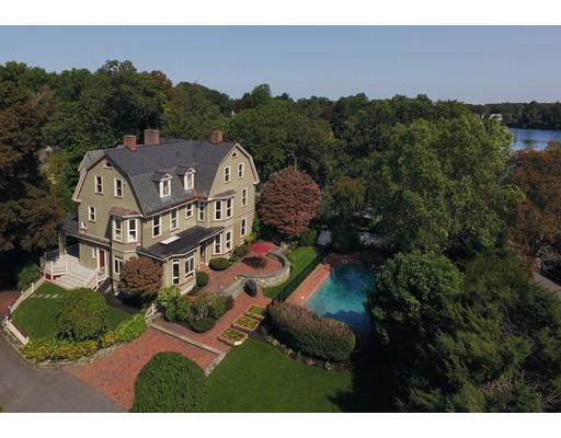 Частный односемейный дом для того Продажа на 219 Lake Avenue Newton, Массачусетс 02461 Соединенные Штаты