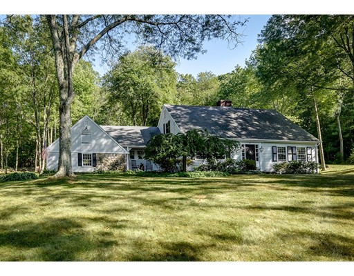 Single Family Home for Sale at 33 Old Farm Road Dover, Massachusetts 02030 United States