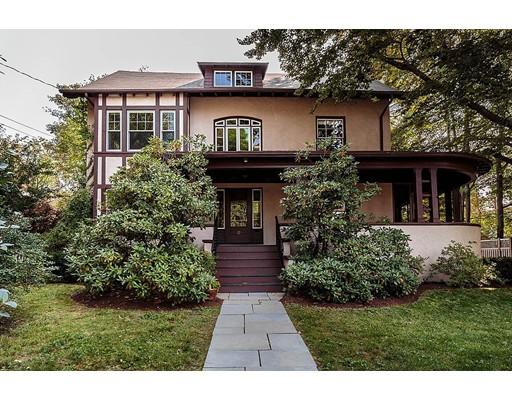 Частный односемейный дом для того Продажа на 21 Clover Street 21 Clover Street Belmont, Массачусетс 02478 Соединенные Штаты