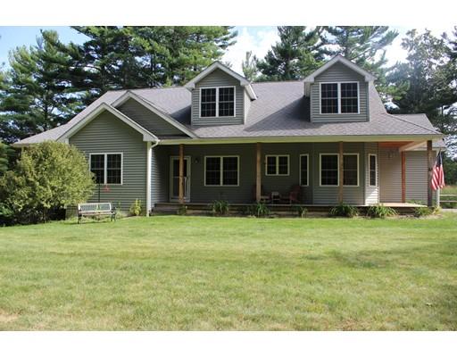 独户住宅 为 销售 在 61 Turkey Hill Road Rutland, 马萨诸塞州 01543 美国