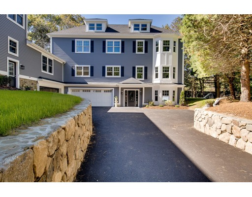 Частный односемейный дом для того Продажа на 969 Greendale Avenue Needham, Массачусетс 02492 Соединенные Штаты
