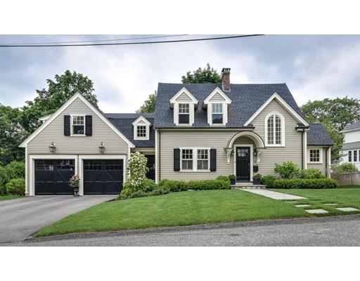 Vivienda unifamiliar por un Venta en 16 Clifton Road Wellesley, Massachusetts 02481 Estados Unidos