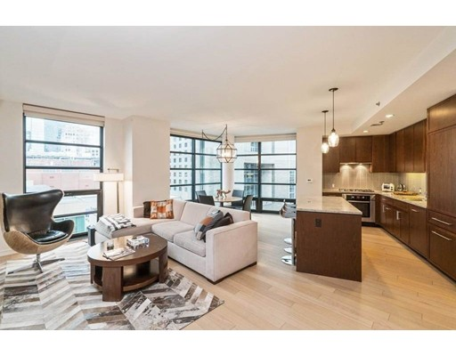 Condominium for Rent at 580 Washington Street #1103 580 Washington Street #1103 Boston, Massachusetts 02111 United States