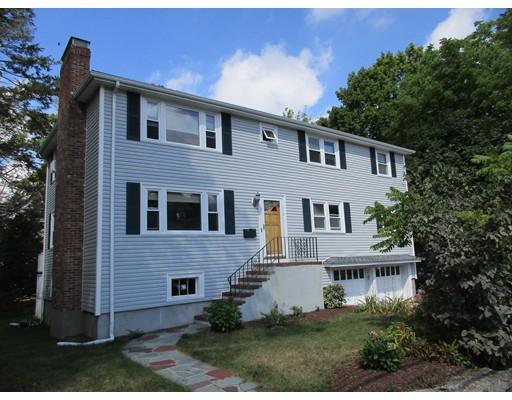 独户住宅 为 出租 在 117 Glen Avenue 牛顿, 马萨诸塞州 02459 美国