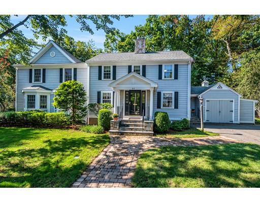 Частный односемейный дом для того Продажа на 69 Melrose Avenue Needham, Массачусетс 02492 Соединенные Штаты