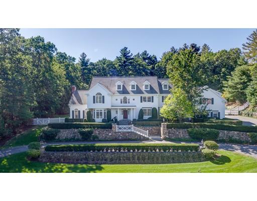 Maison unifamiliale pour l Vente à 18 Meadowbrook Road 18 Meadowbrook Road Weston, Massachusetts 02493 États-Unis