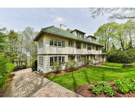 Single Family Home for Sale at 97 Holland Road 97 Holland Road Brookline, Massachusetts 02445 United States