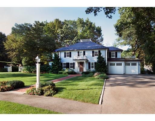 Casa Unifamiliar por un Venta en 57 Damien Road 57 Damien Road Wellesley, Massachusetts 02481 Estados Unidos