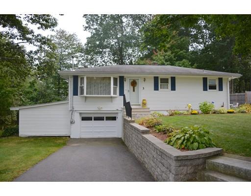 Частный односемейный дом для того Продажа на 3 Anthony Drive 3 Anthony Drive Rutland, Массачусетс 01543 Соединенные Штаты