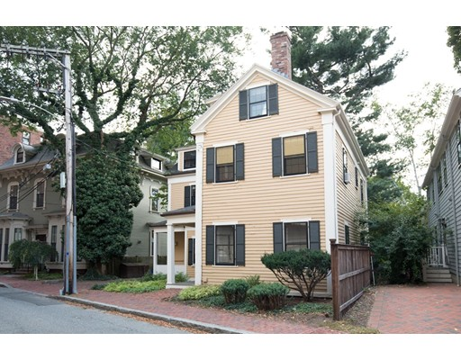 Single Family Home for Sale at 36 Follen Street Cambridge, Massachusetts 02138 United States