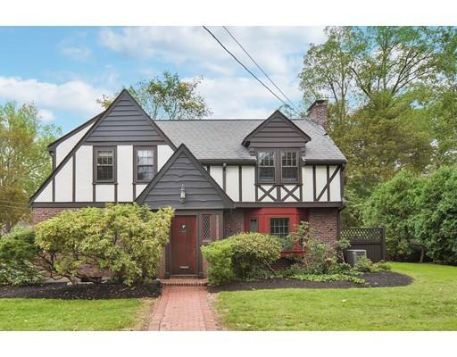 Einfamilienhaus für Verkauf beim 506 Parker Street Newton, Massachusetts 02459 Vereinigte Staaten