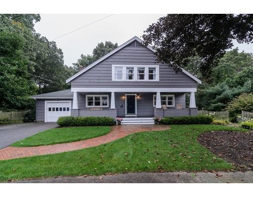 Частный односемейный дом для того Продажа на 19 Ware Road Needham, Массачусетс 02492 Соединенные Штаты