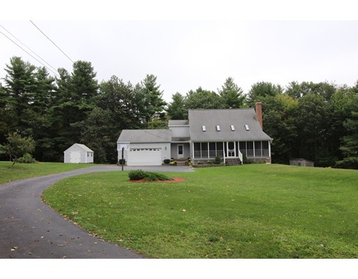 Single Family Home for Sale at 84 Ragged Hill Road Hubbardston, Massachusetts 01452 United States