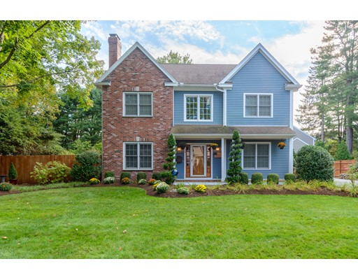 Single Family Home for Sale at 24 Wall Street Wellesley, Massachusetts 02481 United States