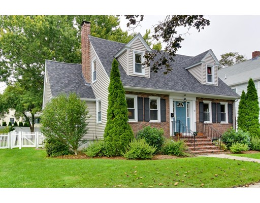 Single Family Home for Sale at 50 Oliver Road Belmont, Massachusetts 02478 United States