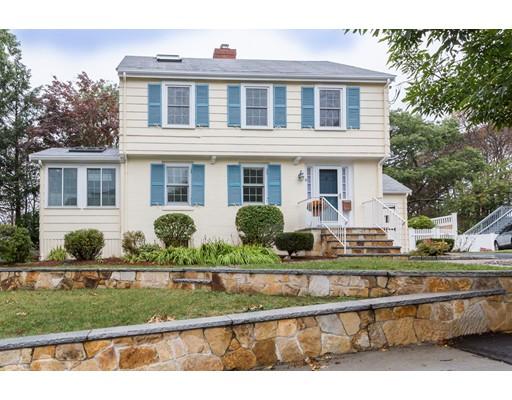 Casa Unifamiliar por un Venta en 87 Richfield Road Arlington, Massachusetts 02474 Estados Unidos