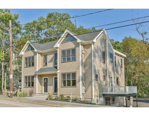 New ConstructionThree level home with open Floor plan , kitchen featuring granite, stainless , hardwood floors, perfect for entertaining and all your family celebrations.Three bedrooms and 3.5 baths all just waiting for new owner, Two car garage under,walk right into unit on those cold and snowy days,walk to commuter rail  For easy commute to Boston. You can easily go to highway and yet experience the beautiful Blue Hills for hiking and walking. Come take a look