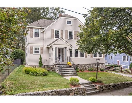 Частный односемейный дом для того Продажа на 158 ORRIS STREET Stoneham, Массачусетс 02180 Соединенные Штаты