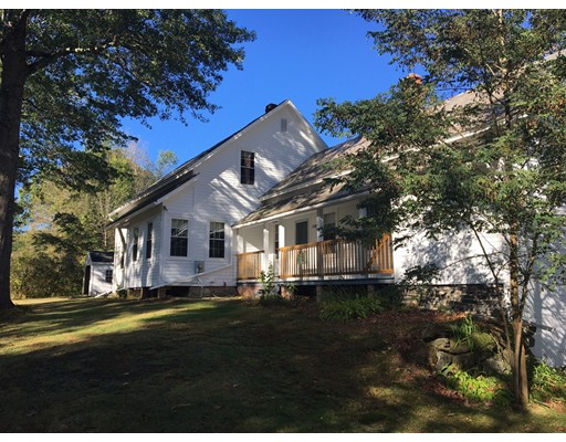 Maison unifamiliale pour l Vente à 1587 Conway Road 1587 Conway Road Ashfield, Massachusetts 01330 États-Unis