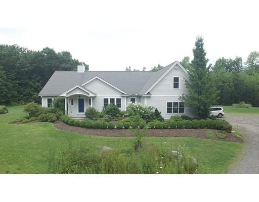 Maison unifamiliale pour l Vente à 140 Hubbardston Road 140 Hubbardston Road Princeton, Massachusetts 01541 États-Unis
