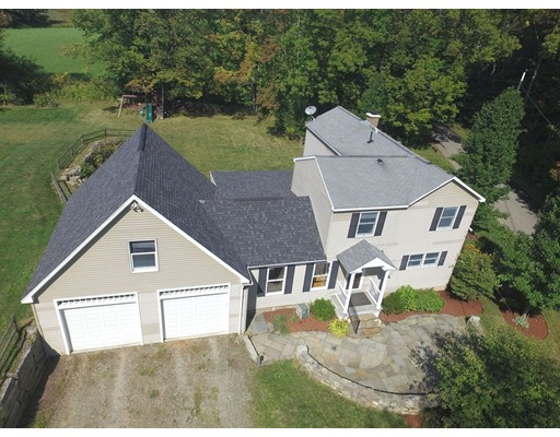 Single Family Home for Sale at 284 Lincoln Road 284 Lincoln Road Oakham, Massachusetts 01068 United States