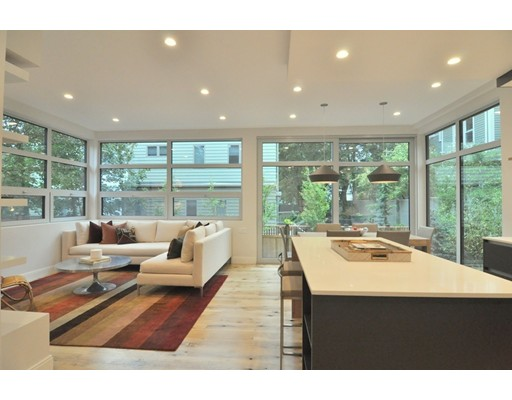 Condominium for Sale at 137 Walden Street Cambridge, Massachusetts 02140 United States
