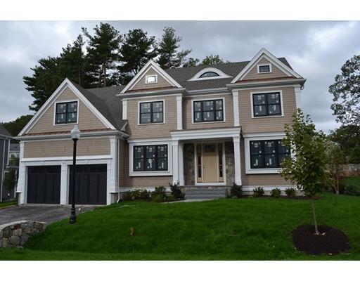 Частный односемейный дом для того Продажа на 58 ROCKWOOD LANE Needham, Массачусетс 02492 Соединенные Штаты