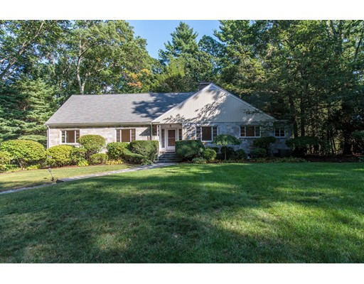 Single Family Home for Sale at 6 Columbine Road Weston, Massachusetts 02493 United States