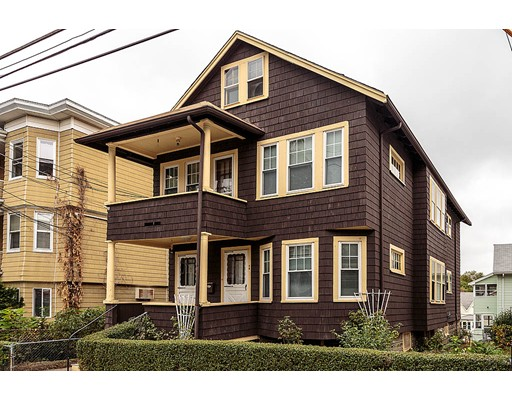 Multi-Family Home for Sale at 49 Albion Street Somerville, Massachusetts 02143 United States