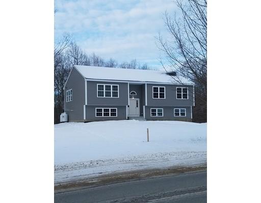 Maison unifamiliale pour l Vente à 73 New Braintree Road North Brookfield, Massachusetts 01535 États-Unis