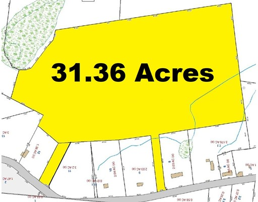 أراضي للـ Sale في 263 North Sturbridge Road Charlton, Massachusetts 01507 United States