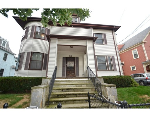 Multi-Family Home for Sale at 22 Grand View Avenue 22 Grand View Avenue Somerville, Massachusetts 02143 United States