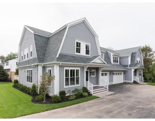 Maison unifamiliale pour l Vente à 136 Edinboro Street 136 Edinboro Street Newton, Massachusetts 02460 États-Unis
