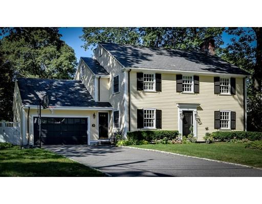 Single Family Home for Sale at 58 Fiske Road 58 Fiske Road Wellesley, Massachusetts 02481 United States