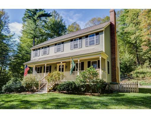 Частный односемейный дом для того Продажа на 81 Allen Road 81 Allen Road Brookfield, Массачусетс 01506 Соединенные Штаты