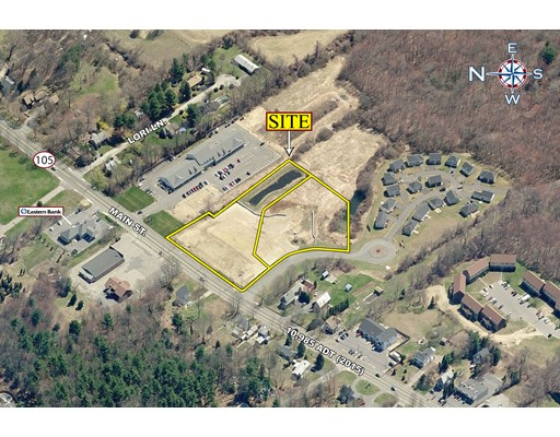 Land for Sale at 56 Main Street 56 Main Street Lakeville, Massachusetts 02347 United States