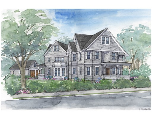 Single Family Home for Sale at 33 Mossfield Road 33 Mossfield Road Newton, Massachusetts 02468 United States