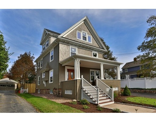 Single Family Home for Sale at 11 Faxon Street 11 Faxon Street Melrose, Massachusetts 02176 United States