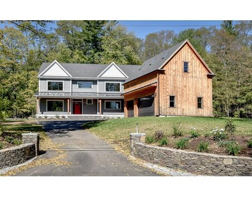 Casa Unifamiliar por un Venta en 40 MAPLE STREET 40 MAPLE STREET Sherborn, Massachusetts 01770 Estados Unidos