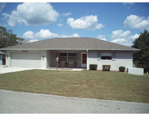واحد منزل الأسرة للـ Sale في 3705 Honeylocust Drive 3705 Honeylocust Drive Beverly Hills, Florida 34465 United States