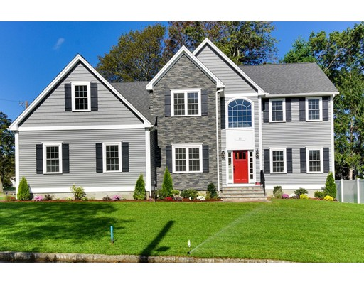 Single Family Home for Sale at 21 Old Colony Road 21 Old Colony Road Arlington, Massachusetts 02474 United States