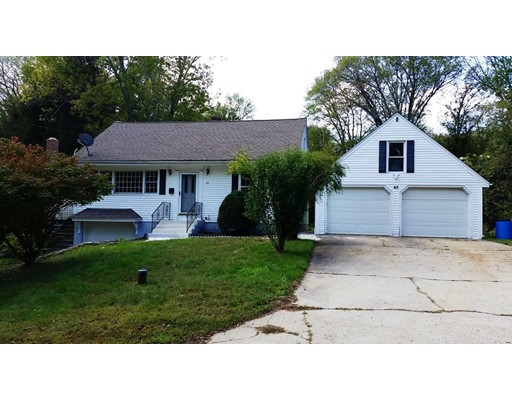 Single Family Home for Sale at 45 Old Chestnut Hill Road 45 Old Chestnut Hill Road Millville, Massachusetts 01529 United States