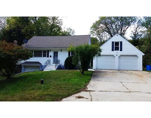 واحد منزل الأسرة للـ Sale في 45 Old Chestnut Hill Road 45 Old Chestnut Hill Road Millville, Massachusetts 01529 United States