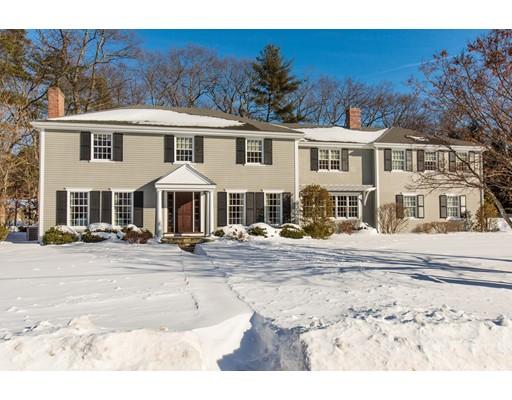 Casa Unifamiliar por un Venta en 30 Cornell Road 30 Cornell Road Wellesley, Massachusetts 02482 Estados Unidos