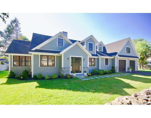 Casa Unifamiliar por un Alquiler en 61 GROVE STREET 61 GROVE STREET Winchester, Massachusetts 01890 Estados Unidos
