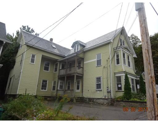 متعددة للعائلات الرئيسية للـ Sale في 27 Gage Street 27 Gage Street Fitchburg, Massachusetts 01420 United States